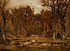 The Untamed Landscape by Theodore Rousseau